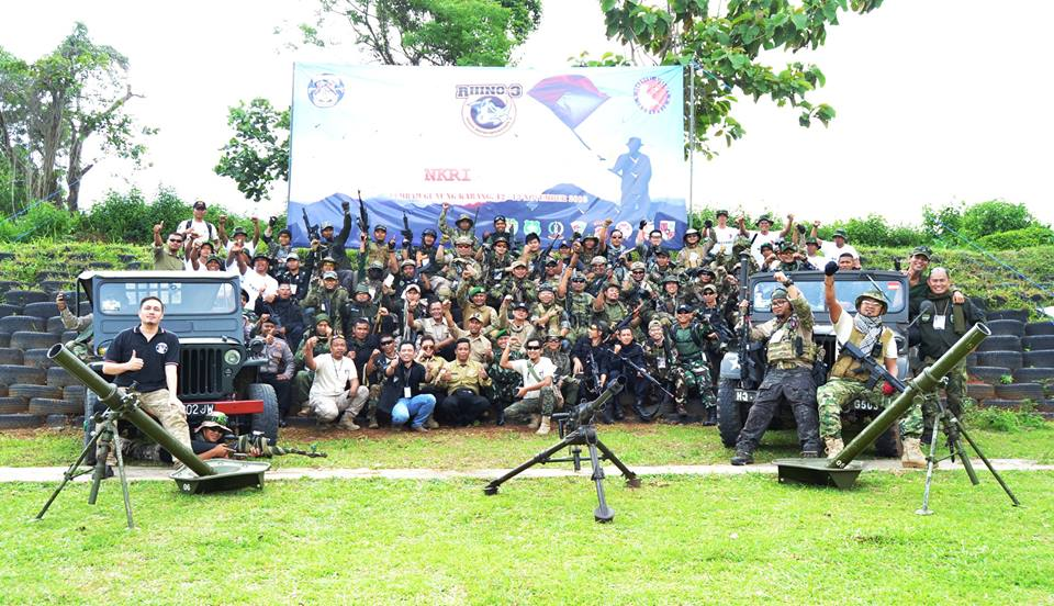 Cula Shooting Club Hadiri Acara White Rhino Operation III